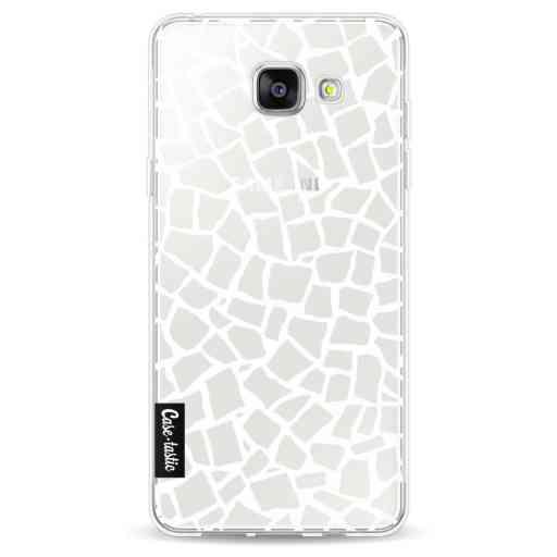 Casetastic Softcover Samsung Galaxy A5 (2016) - British Mosaic White Transparent