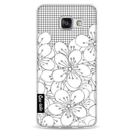 Casetastic Softcover Samsung Galaxy A3 (2016) - Cherry Blossom Grid