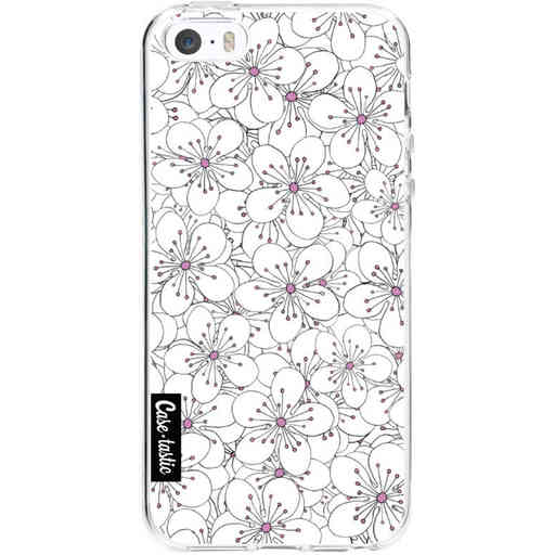 Casetastic Softcover Apple iPhone 5 / 5s / SE - Cherry Blossom Pink