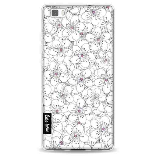 Casetastic Softcover Huawei P8 Lite - Cherry Blossom Pink