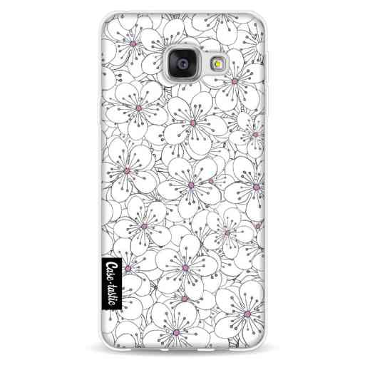 Casetastic Softcover Samsung Galaxy A3 (2016) - Cherry Blossom Pink