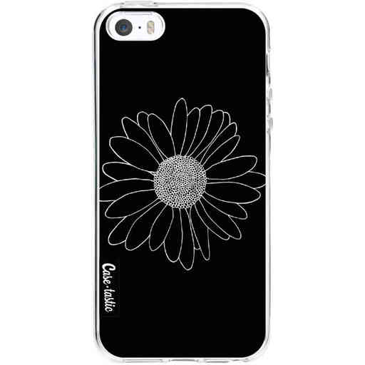 Casetastic Softcover Apple iPhone 5 / 5s / SE - Daisy Black