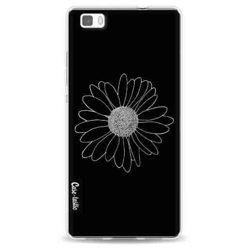 Casetastic Softcover Huawei P8 Lite (2015) - Daisy Black