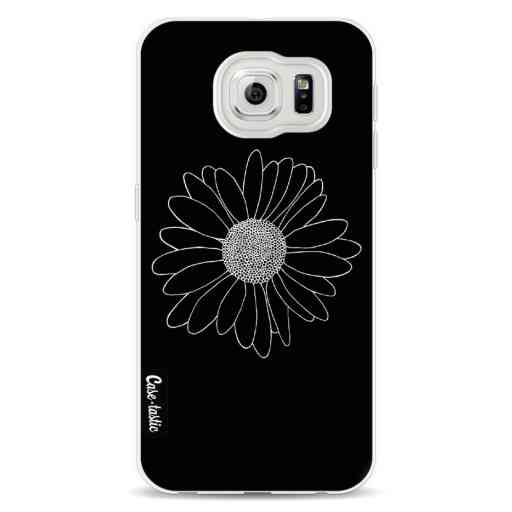 Casetastic Softcover Samsung Galaxy S6 - Daisy Black