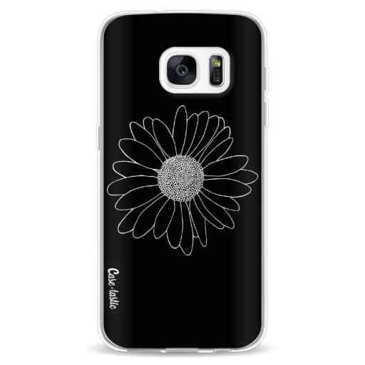 Casetastic Softcover Samsung Galaxy S7 - Daisy Black