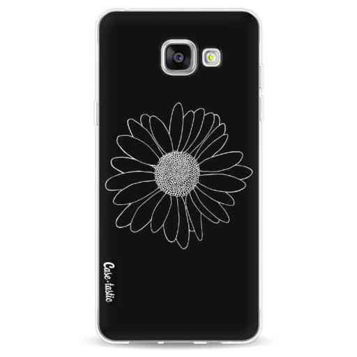 Casetastic Softcover Samsung Galaxy A5 (2016) - Daisy Black