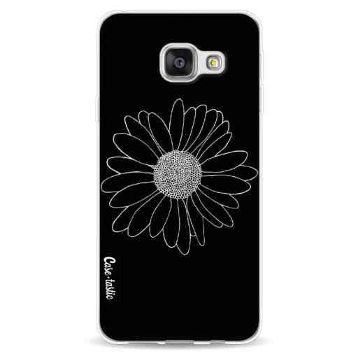 Casetastic Softcover Samsung Galaxy A3 (2016) - Daisy Black