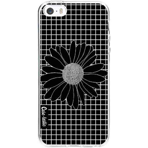 Casetastic Softcover Apple iPhone 5 / 5s / SE - Daisy Grid Black