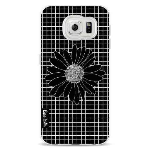 Casetastic Softcover Samsung Galaxy S6 - Daisy Grid Black