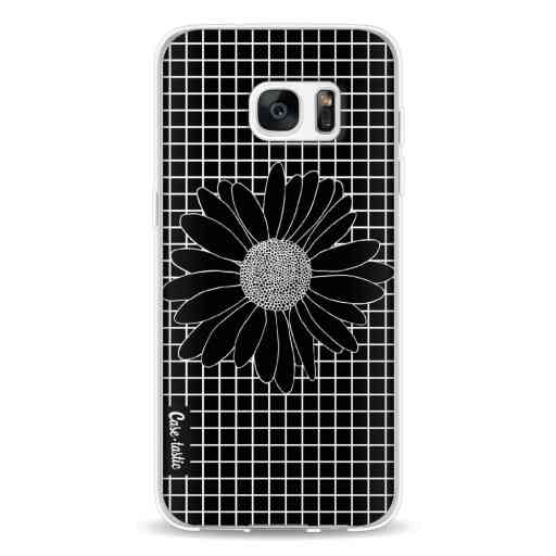 Casetastic Softcover Samsung Galaxy S7 Edge - Daisy Grid Black