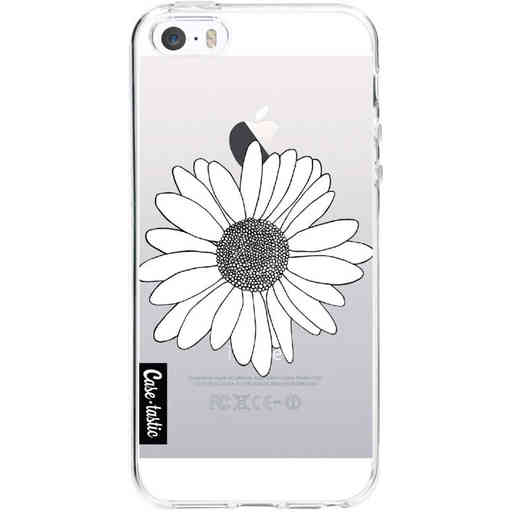 Casetastic Softcover Apple iPhone 5 / 5s / SE - Daisy Transparent