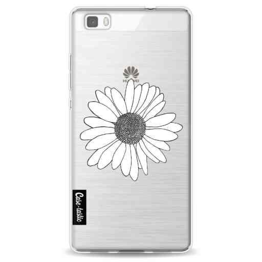 Casetastic Softcover Huawei P8 Lite - Daisy Transparent