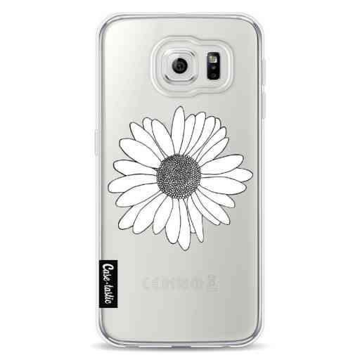 Casetastic Softcover Samsung Galaxy S6 - Daisy Transparent