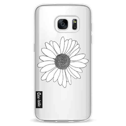 Casetastic Softcover Samsung Galaxy S7 - Daisy Transparent