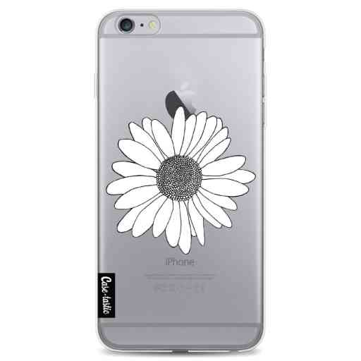Casetastic Softcover Apple iPhone 6 Plus / 6s Plus - Daisy Transparent