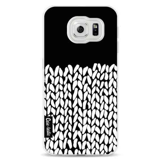 Casetastic Softcover Samsung Galaxy S6 - Half Knit Black