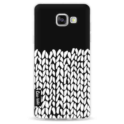 Casetastic Softcover Samsung Galaxy A5 (2016) - Half Knit Black