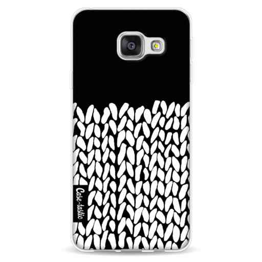 Casetastic Softcover Samsung Galaxy A3 (2016) - Half Knit Black