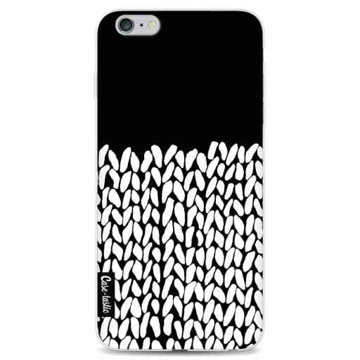 Casetastic Softcover Apple iPhone 6 Plus / 6s Plus - Half Knit Black