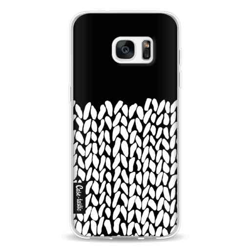Casetastic Softcover Samsung Galaxy S7 Edge - Half Knit Black