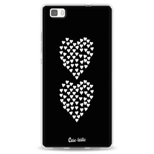 Casetastic Softcover Huawei P8 Lite - Hearts Heart 2 Black