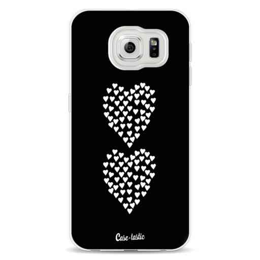 Casetastic Softcover Samsung Galaxy S6 - Hearts Heart 2 Black