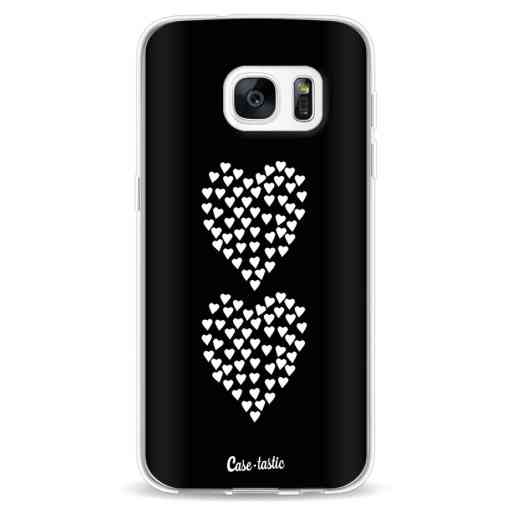 Casetastic Softcover Samsung Galaxy S7 - Hearts Heart 2 Black