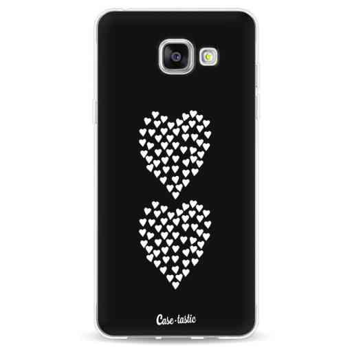 Casetastic Softcover Samsung Galaxy A5 (2016) - Hearts Heart 2 Black