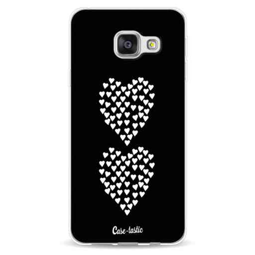 Casetastic Softcover Samsung Galaxy A3 (2016) - Hearts Heart 2 Black