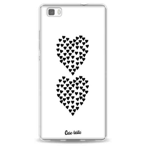 Casetastic Softcover Huawei P8 Lite - Hearts Heart 2 White
