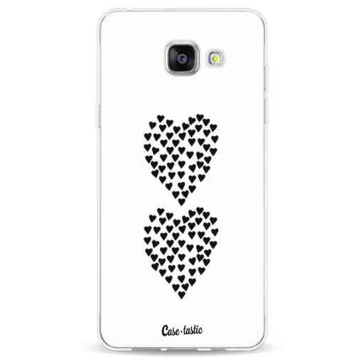 Casetastic Softcover Samsung Galaxy A5 (2016) - Hearts Heart 2 White