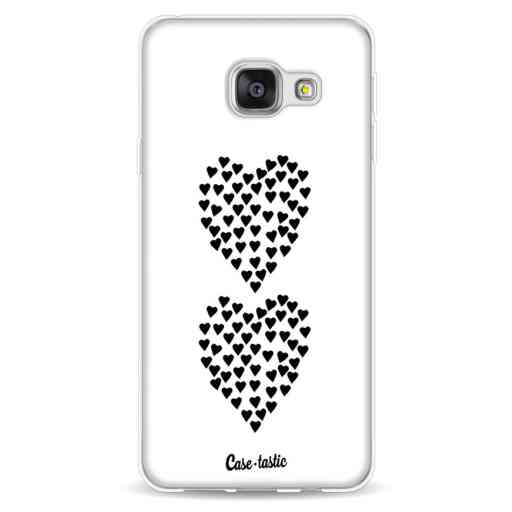Casetastic Softcover Samsung Galaxy A3 (2016) - Hearts Heart 2 White