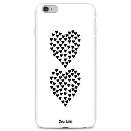 Casetastic Softcover Apple iPhone 6 Plus / 6s Plus - Hearts Heart 2 White