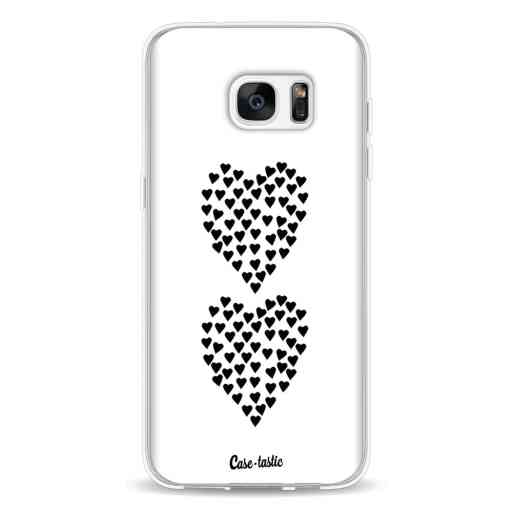 Casetastic Softcover Samsung Galaxy S7 Edge - Hearts Heart 2 White