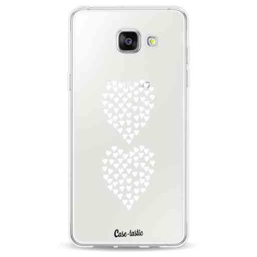 Casetastic Softcover Samsung Galaxy A5 (2016) - Hearts Heart 2 White Transparent