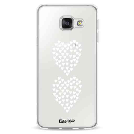 Casetastic Softcover Samsung Galaxy A3 (2016) - Hearts Heart 2 White Transparent