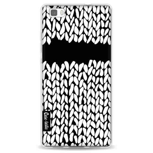 Casetastic Softcover Huawei P8 Lite - Missing Knit Black