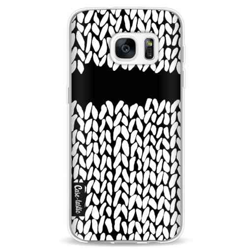 Casetastic Softcover Samsung Galaxy S7 - Missing Knit Black