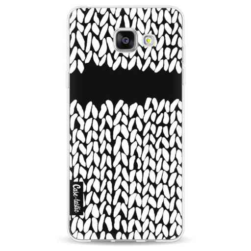 Casetastic Softcover Samsung Galaxy A5 (2016) - Missing Knit Black