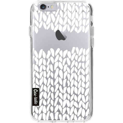 Casetastic Softcover Apple iPhone 6 / 6s  - Missing Knit Transparent
