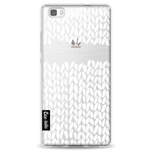 Casetastic Softcover Huawei P8 Lite - Missing Knit Transparent