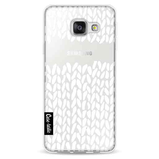 Casetastic Softcover Samsung Galaxy A3 (2016) - Missing Knit Transparent