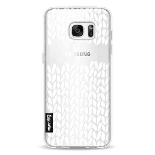 Casetastic Softcover Samsung Galaxy S7 Edge - Missing Knit Transparent