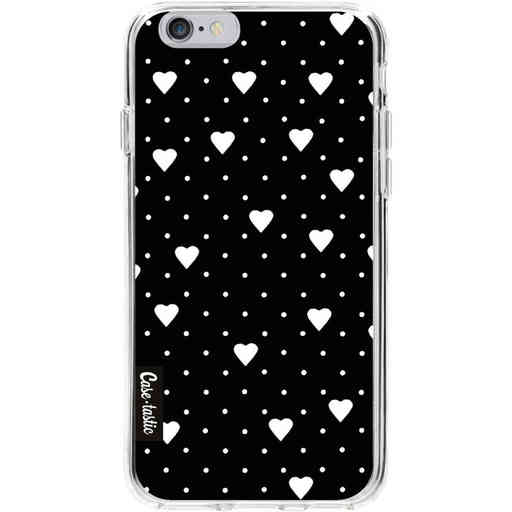 Casetastic Softcover Apple iPhone 6 / 6s  - Pin Point Hearts Black