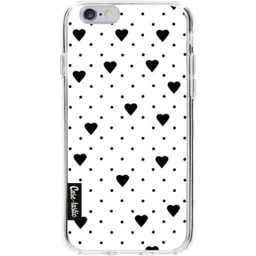 Casetastic Softcover Apple iPhone 6 / 6s  - Pin Point Hearts White