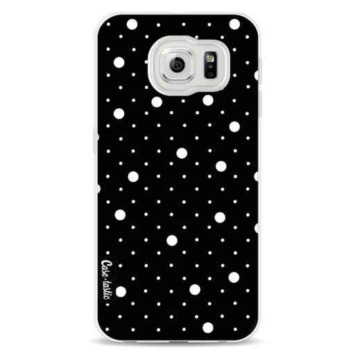 Casetastic Softcover Samsung Galaxy S6 - Pin Points Polka Black