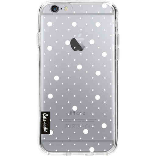 Casetastic Softcover Apple iPhone 6 / 6s  - Pin Points Polka Transparent