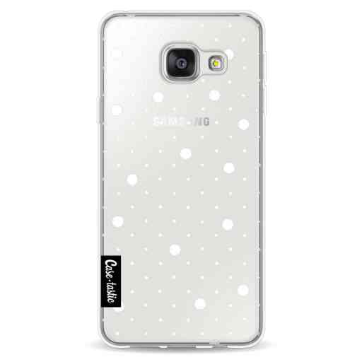 Casetastic Softcover Samsung Galaxy A3 (2016) - Pin Points Polka Transparent