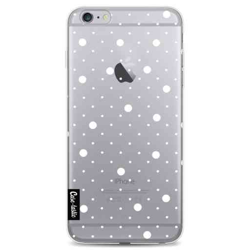 Casetastic Softcover Apple iPhone 6 Plus / 6s Plus - Pin Points Polka Transparent