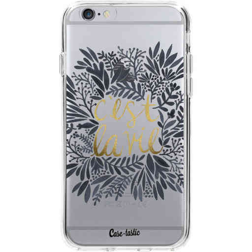 Casetastic Softcover Apple iPhone 6 / 6s  - Cest La Vie BlackGold